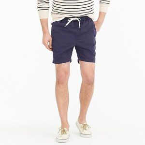 J. Crew Dock Short in Stretch Chino-Historic Blue